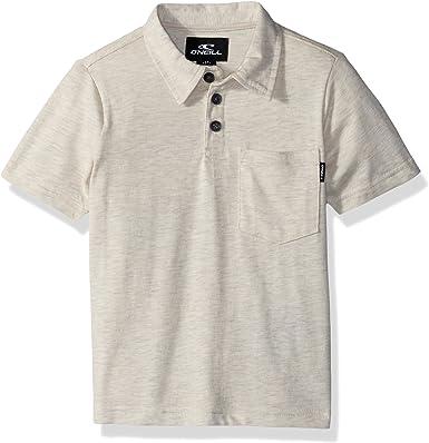 ONeill Niños SP8203102-BON-Parent Manga Corta Camisa Polo ...