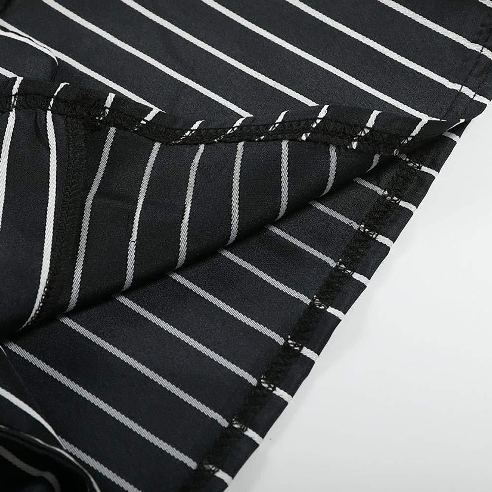 Amazon.com: NUWFOR Beetlejuice Costume Black White Striped ...