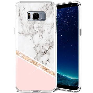coque galaxy 8 marbre