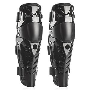 Webetop Professionnelle du Genou de Motocross Moto de Haute Qualité Protector Gardes Équipement de Protection 1 Paire Noir