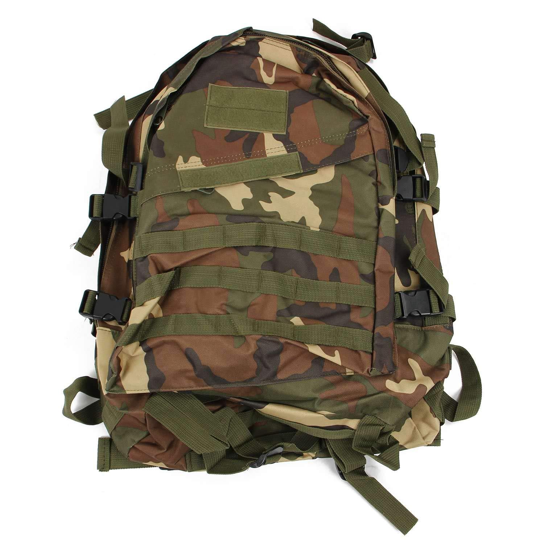 SODIAL ( R ) 40l 3dアウトドアRucksacks Tacticalバックパックキャンプハイキングトレッキングスポーツバッグジャングル迷彩   B01M6DNTL7