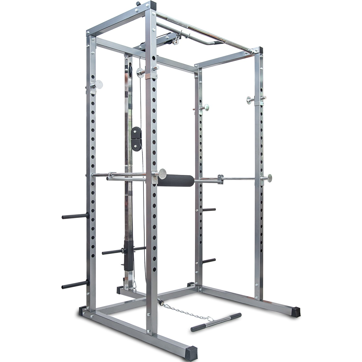 Merax Athletics Power Rack Review