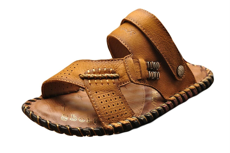 ICEGREY - Sandalias de Vestir de Caucho para Hombre 42 EU|Marrón