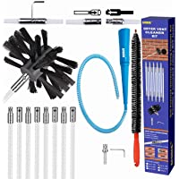 AFUUFA 16ft Dryer Vent Cleaner Kit, Lint Remover for Dryer Cleaning Brush with Flexible Rods, Reusable Duct Brush with…
