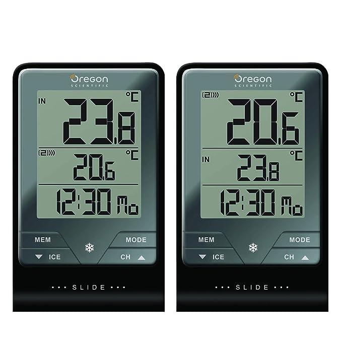 17 opinioni per Oregon Scientific- Touch & Slide- Termometro con Orologio + Temperatura