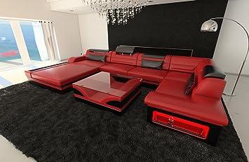 Sofa Dreams Cuero Conjunto de Muebles para Salón Mezzo en ...