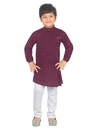 db0036dae Ahhaaaa Kids Indian Ethnic Collection Kurta and Pyjama Set for Boys_421  (2-3 Years
