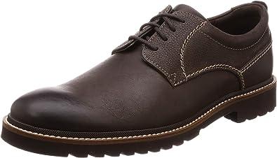 TALLA 43 EU. Rockport Marshall Plain Toe, Zapatos de Cordones Oxford para Hombre