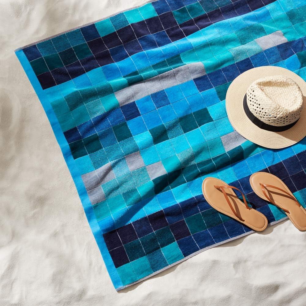 juego de 2 piezas Basics Toallas de playa de primera calidad