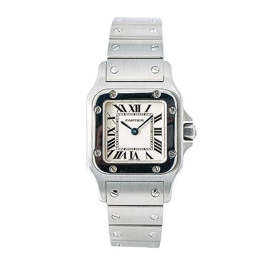 Cartier Santos galbee Cuarzo Mujer Reloj 1565 (Certificado) de Segunda Mano: Cartier: Amazon.es: Relojes