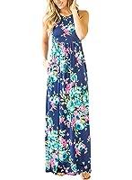 Unbranded* Women's Sleeveless Pockets Casual Swing Long Dresses
