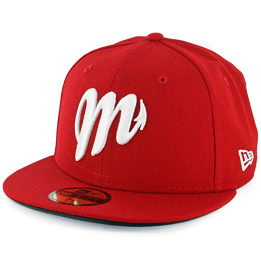 Image Unavailable. Image not available for. Color  New Era 5950 Diablos  Rojos del Mexico Fitted Hat ... 7211cc467f39