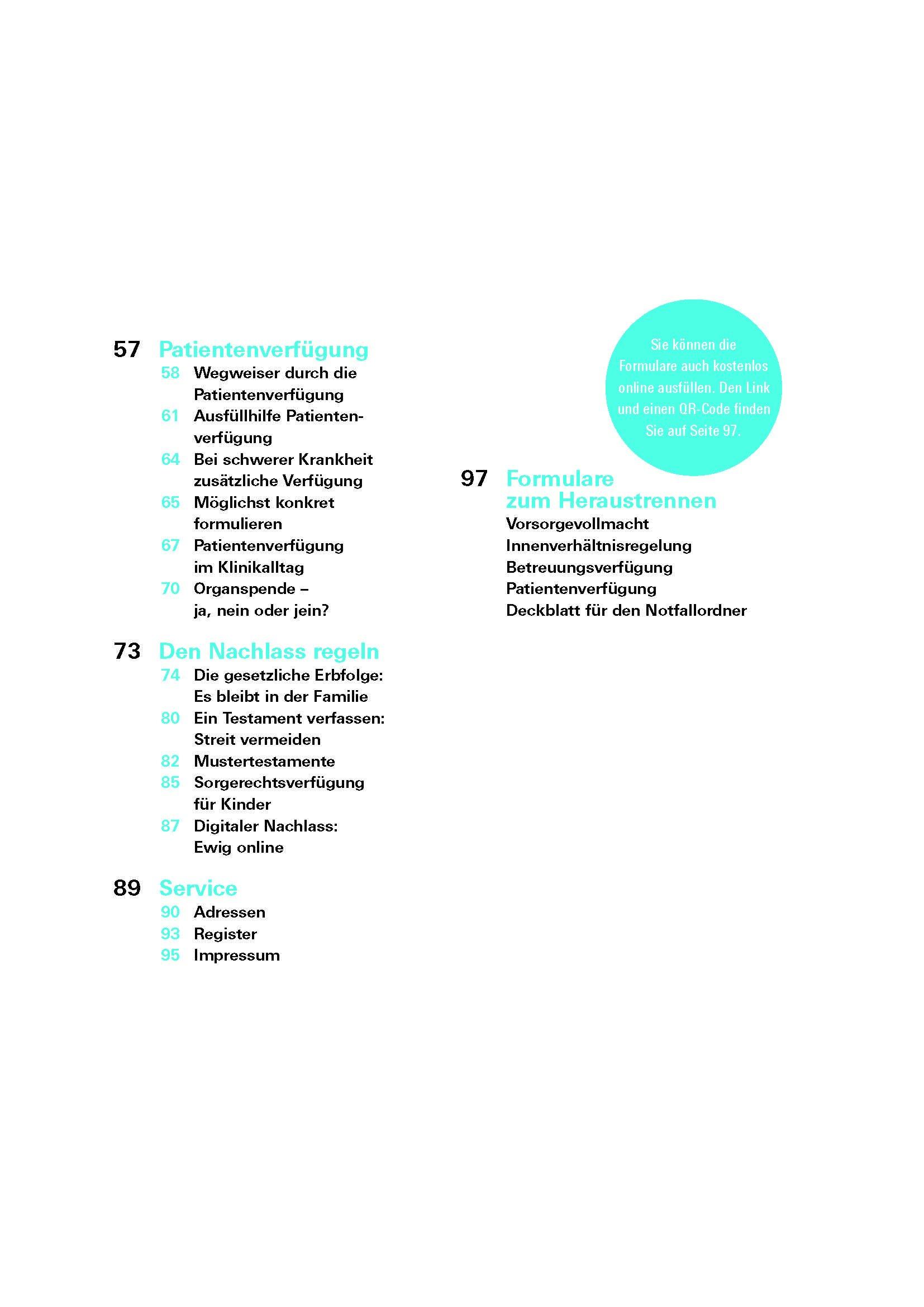 Das Vorsorge Set Patientenverfügung Testament Betreuungsverfügung