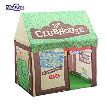 Nice2You Green Play Kids Tent Large Children Game Room Boys Girls Castle Cubby Playhouse Bithday Christmas  sc 1 st  Amazon.com & Amazon.com: Nice2You Green Play Kids Tent Large Children Game Room ...