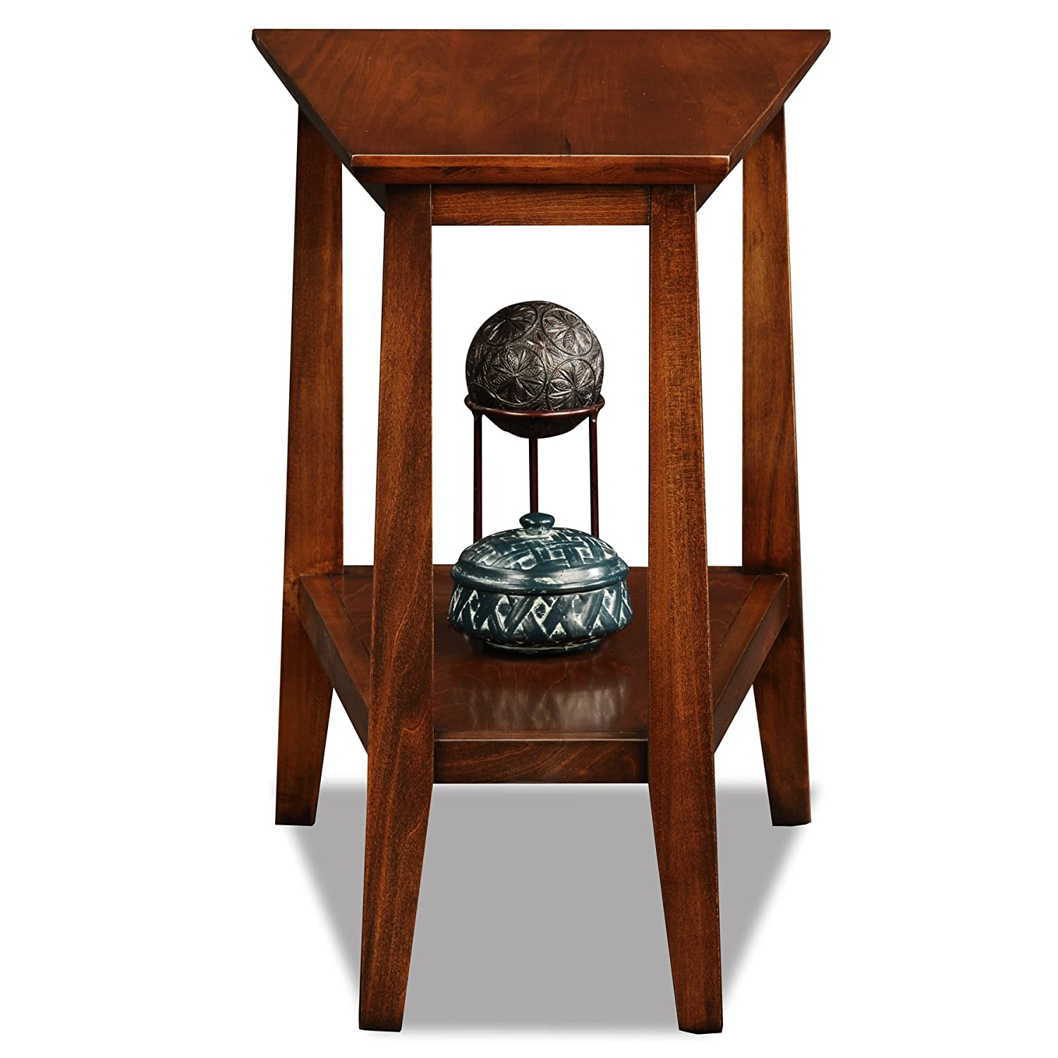 Leick Delton Triangle End Table