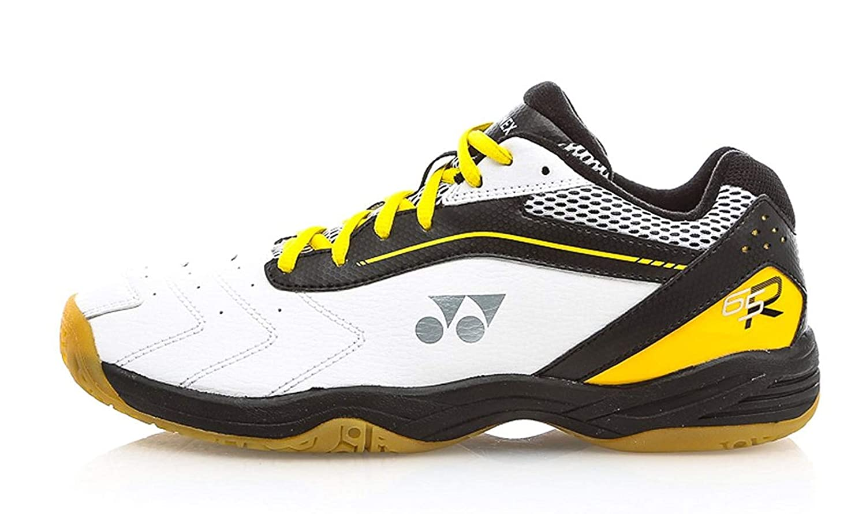 Black//Yellow Yonex Power Cushion SHB 65R Mens Indoor Court Shoes