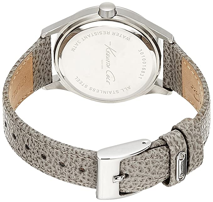 Amazon.com: Kenneth Cole New York Womens 10020852 Classic Analog Display Japanese Quartz Grey Watch: Watches