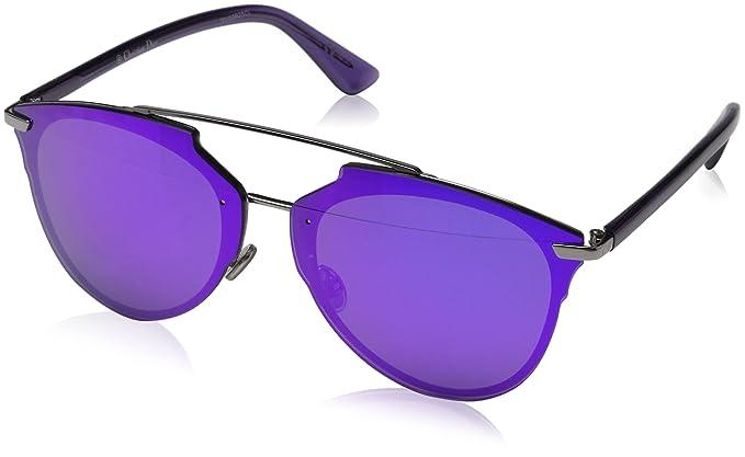 5a231bc7fe Dior DIORREFLECTEDP TE 6LB Gafas de Sol, Gris (Ruthenium/Multilayer Viol),  63 para Mujer: Amazon.es: Ropa y accesorios