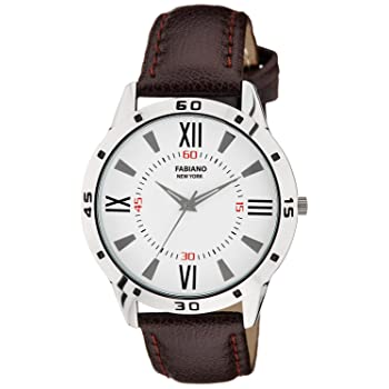 Fabiano New York Royal Brown Analog Watch