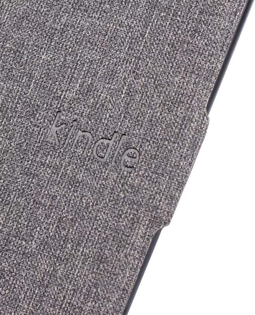 Tissu Noir Smart Case /Étui Housse en Cuir Cover avec Sleep//Wake Up Fonction 10/ème G/én/ération Uniquement, Mod/èle 2018 MOKASE Coque pour  Kindle Paperwhite 4