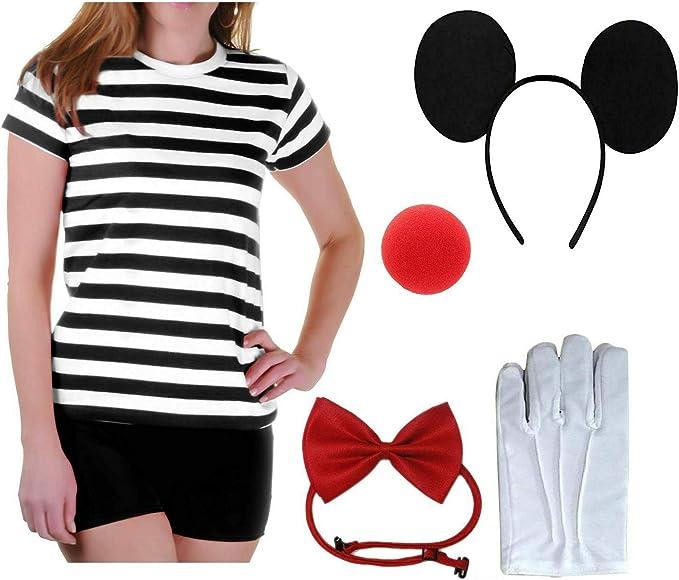 Style Wise Fashion Juego de accesorios para disfraz de ratón para ...