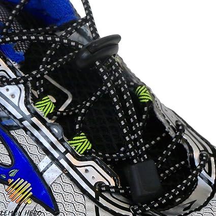 688d8df21166 No Tie Elastic Shoelaces by Lemon Hero - Range of Reflective Colors. Our Shoe  Laces