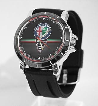 alfa romeo logo. alfa romeo logo italian car custom watch fit your bike