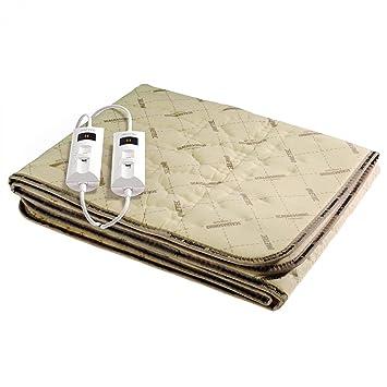Imetec Scaldasonno Tessuto 6012Q, Poliester, 60 MB/s - Manta eléctrica: Amazon.es: Salud y cuidado personal