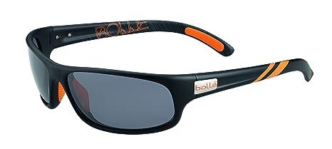 bollé Anaconda Gafas de Sol, Matte Black/Naranja, M/L ...