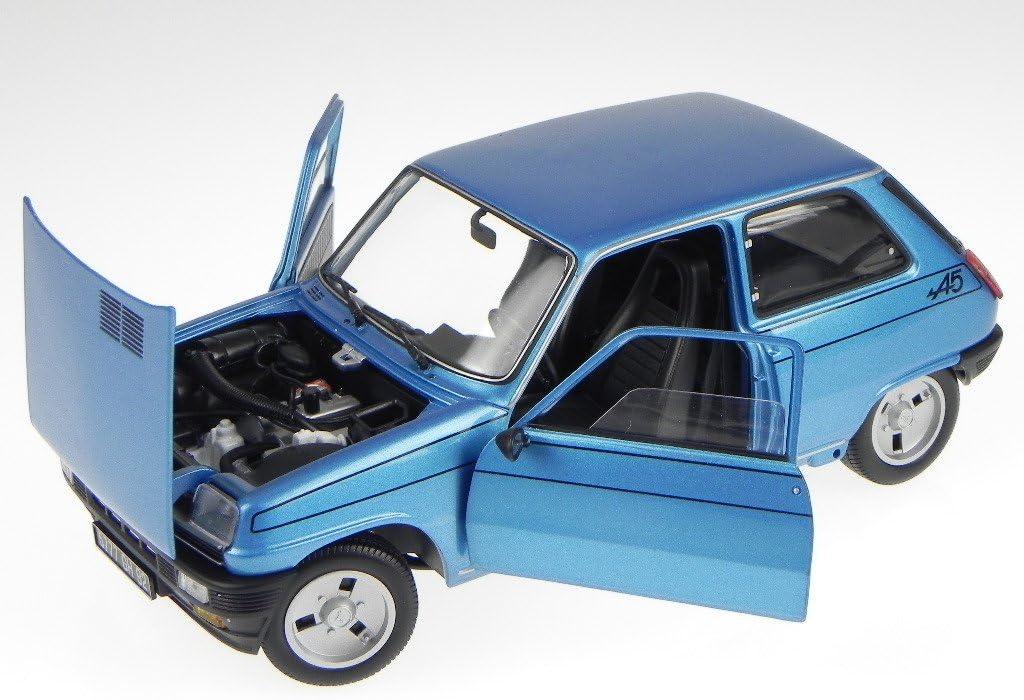 Renault 5 R5 Alpine 1977 Blue 185156 Model Car Norev 1 18 Spielzeug