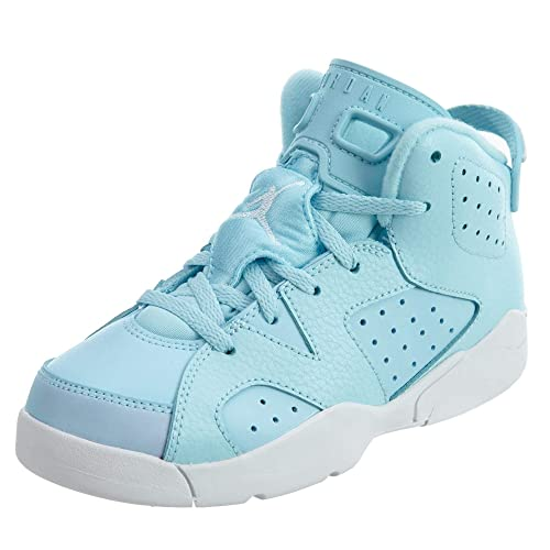 Jordan Retro 6 baby Blue/White shoes (1
