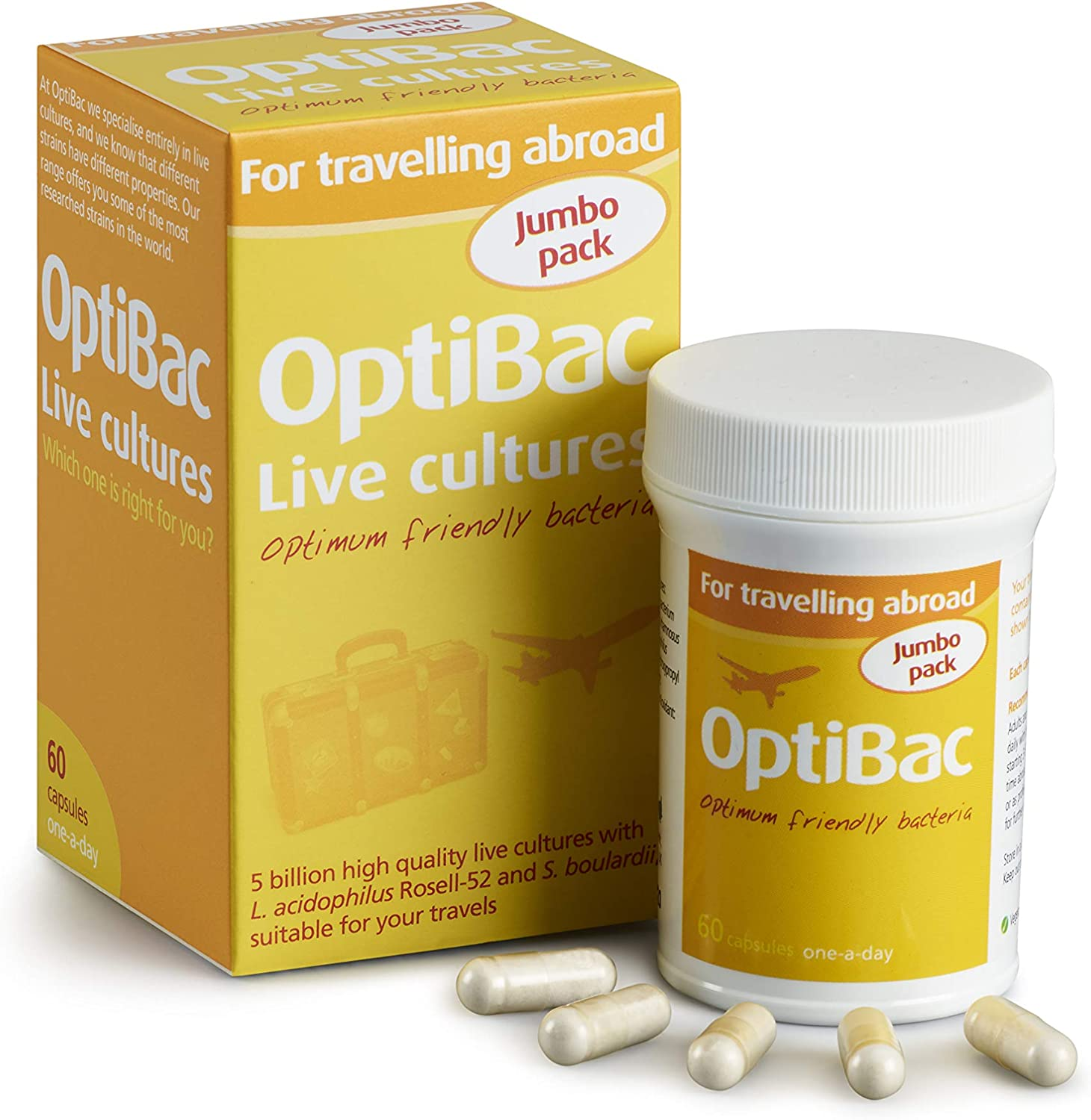 Wren Laboratories OptiBac For Travelling Abroad