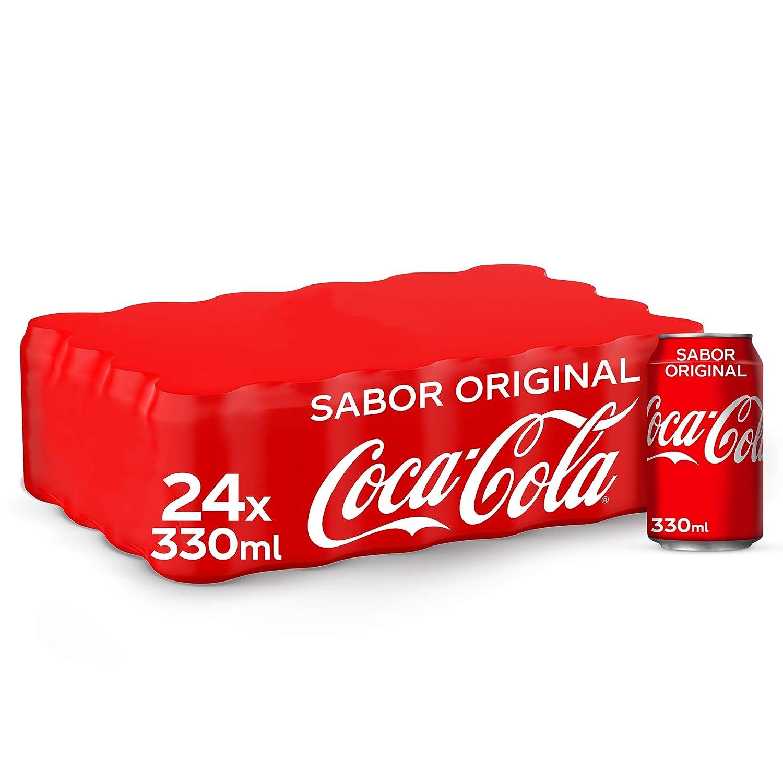 Coca-Cola Sabor Original Lata - 330 ml (Pack de 24): Amazon.es ...
