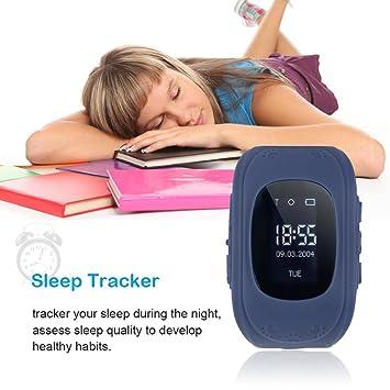 Q50 Children Accurate Tracker Emergency Anti-Lost Reloj Inteligente para Android: Amazon.es: Electrónica