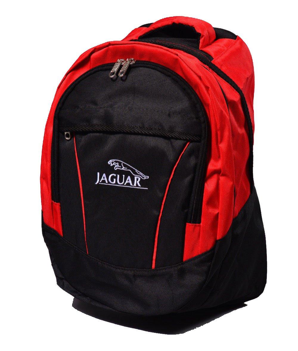 ジャガーロゴバックパックバッグユニセックスレジャースクールレジャーショルダー   B01N2TLJOA