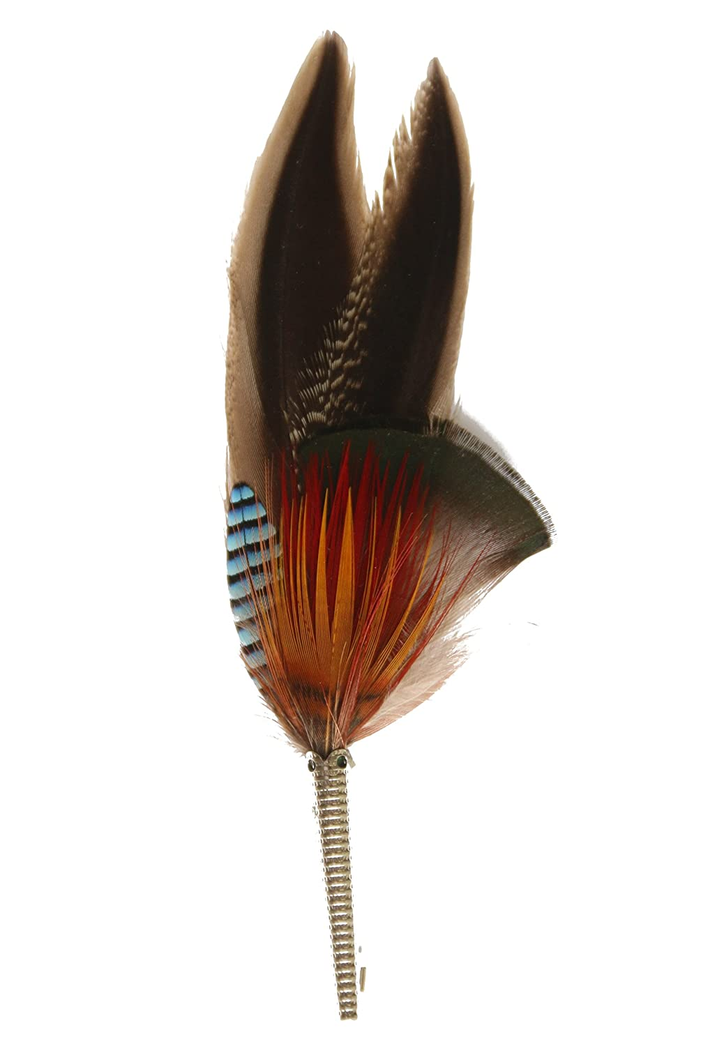 9226c05b441 Real Hat Feather Hat Pin - Duck Pheasant