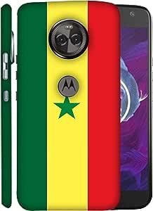 ColorKing Football Senegal 05 Multicolor shell case cover for Motorola Moto X4