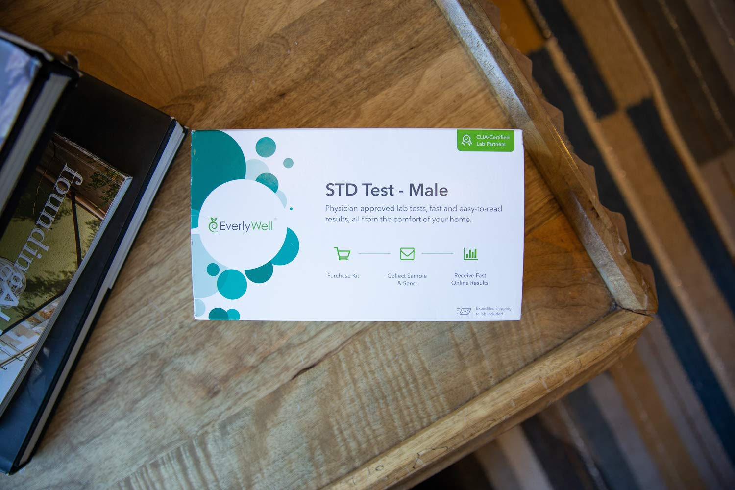 EverlyWell - Male at-Home STD Test - Discreetly Test for 7 Common STDs (Not Available in RI, NJ, NY, and MD) by Everly Well (Image #3)