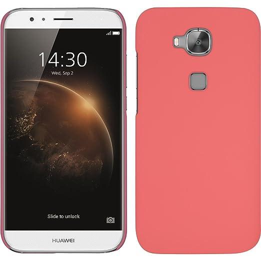 9 opinioni per Custodia Rigida per Huawei G8- gommata rosa- Cover PhoneNatic + pellicola