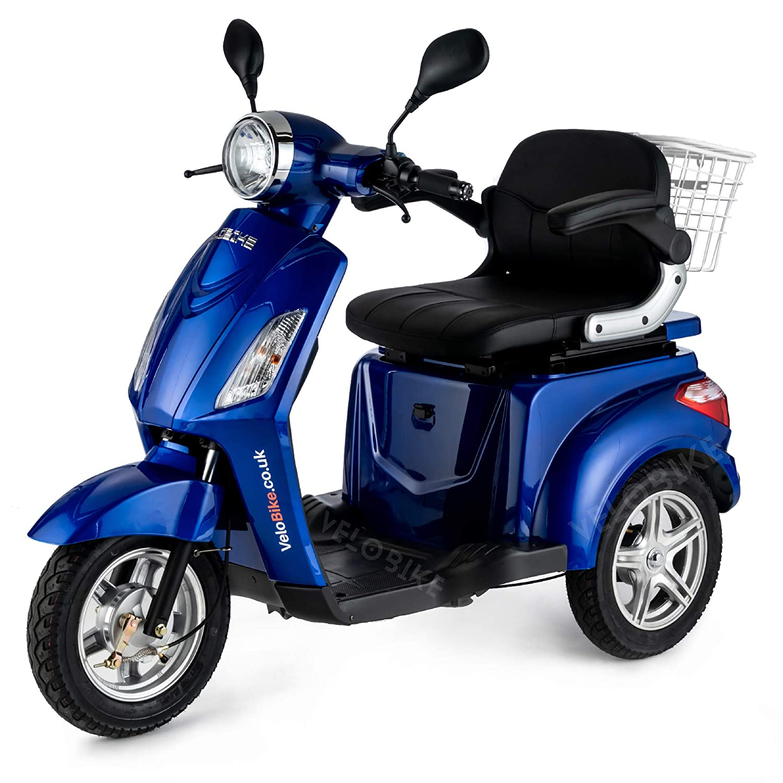 Senior e di triciclo 25 km//H Elektromobil blu. e il veicolo