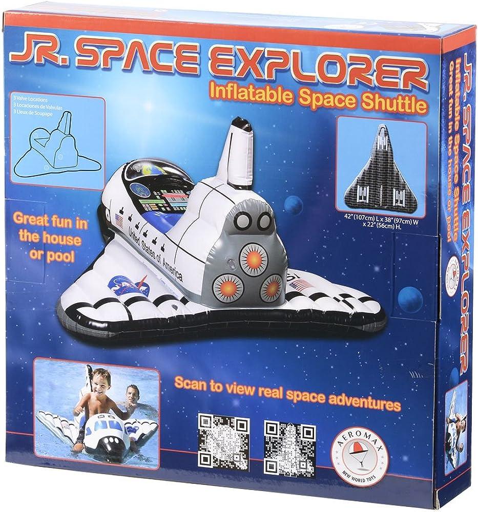 Jr Space Explorer Child Inflatable Space Shuttle