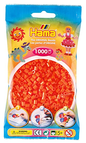 Orange Hama Perlen 1.000 Stück Verkaufspreis
