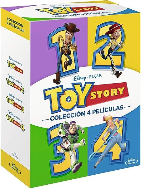 Pack 1: Toy Story 4 [Blu-ray]: Amazon.es: Tom Hanks, Tim Allen, Joan Cusack, Don Rickles, Estelle Harris, Wallace Shawn, John Ratzenberger, Jeff Pidgeon, Blake Clark, Tony Hale, Keegan-Michael Key, Jordan Peele, Josh