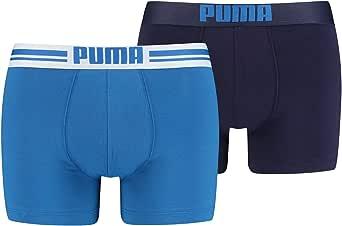Puma Placed Logo - Pack de 2 bóxers para hombre