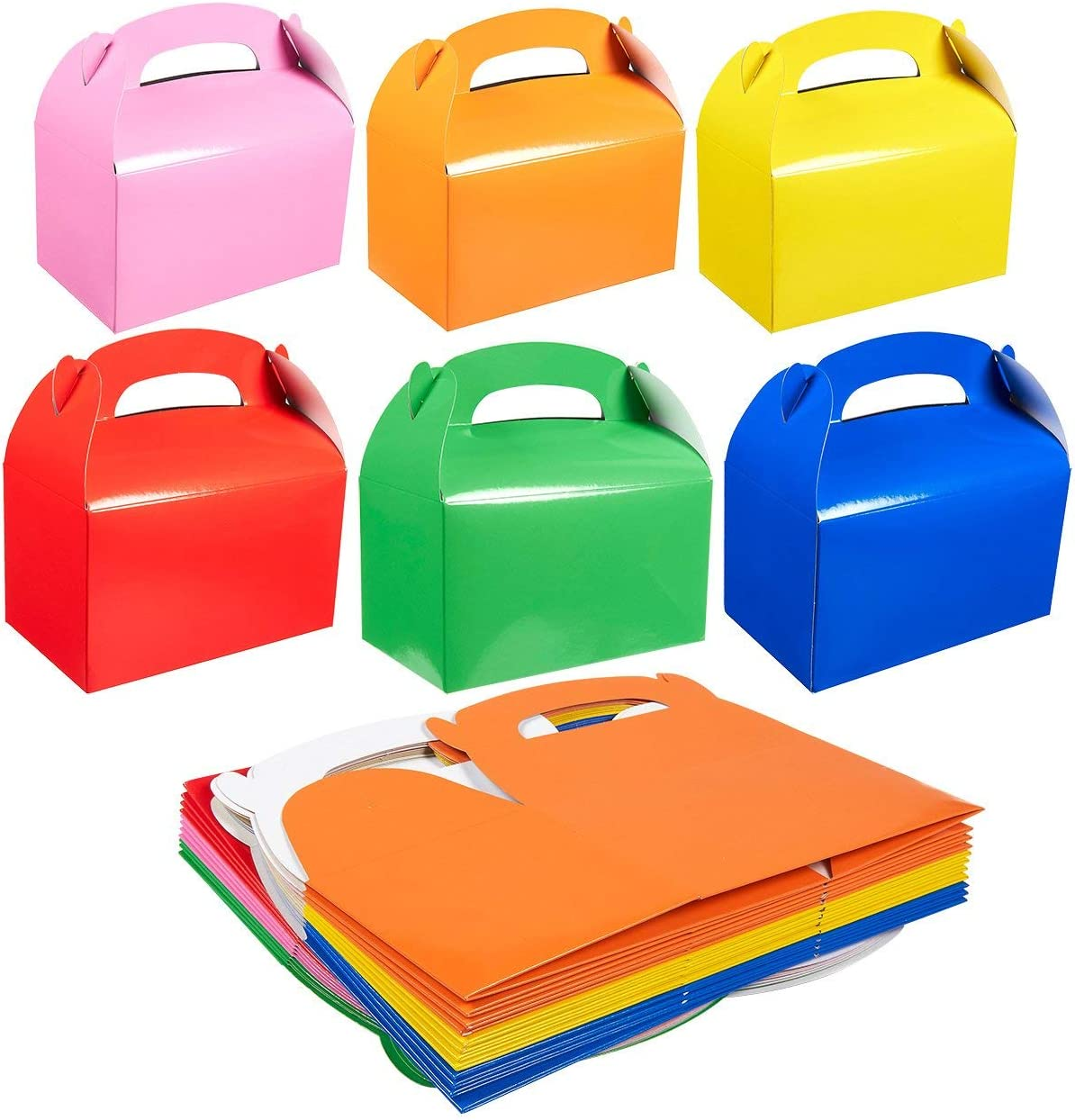 - Play Kreative TM Bright Assorted Colors Treat Boxes Assorted Pack of 12