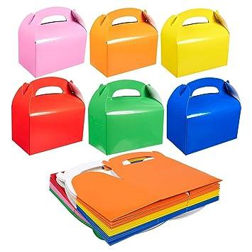Amazon.com: Pack de 24 cajas de papel – Gable Favor Boxes ...