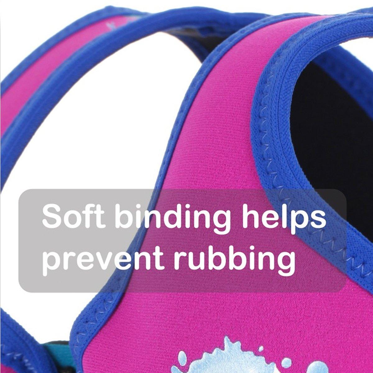 Taille Fabricant : 1-3 ans S Splash About BJL1 Gilet de flottaison Enfant Vert Fluo et Bleu FR