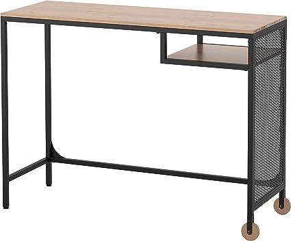 Ikea Fjallbo Table Pour Ordinateur Portable Noir Amazon Fr Fournitures De Bureau