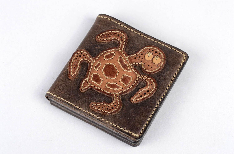 Cartera de piel natural artesanal accesorio para hombre decorado regalo original: Amazon.es: Hogar