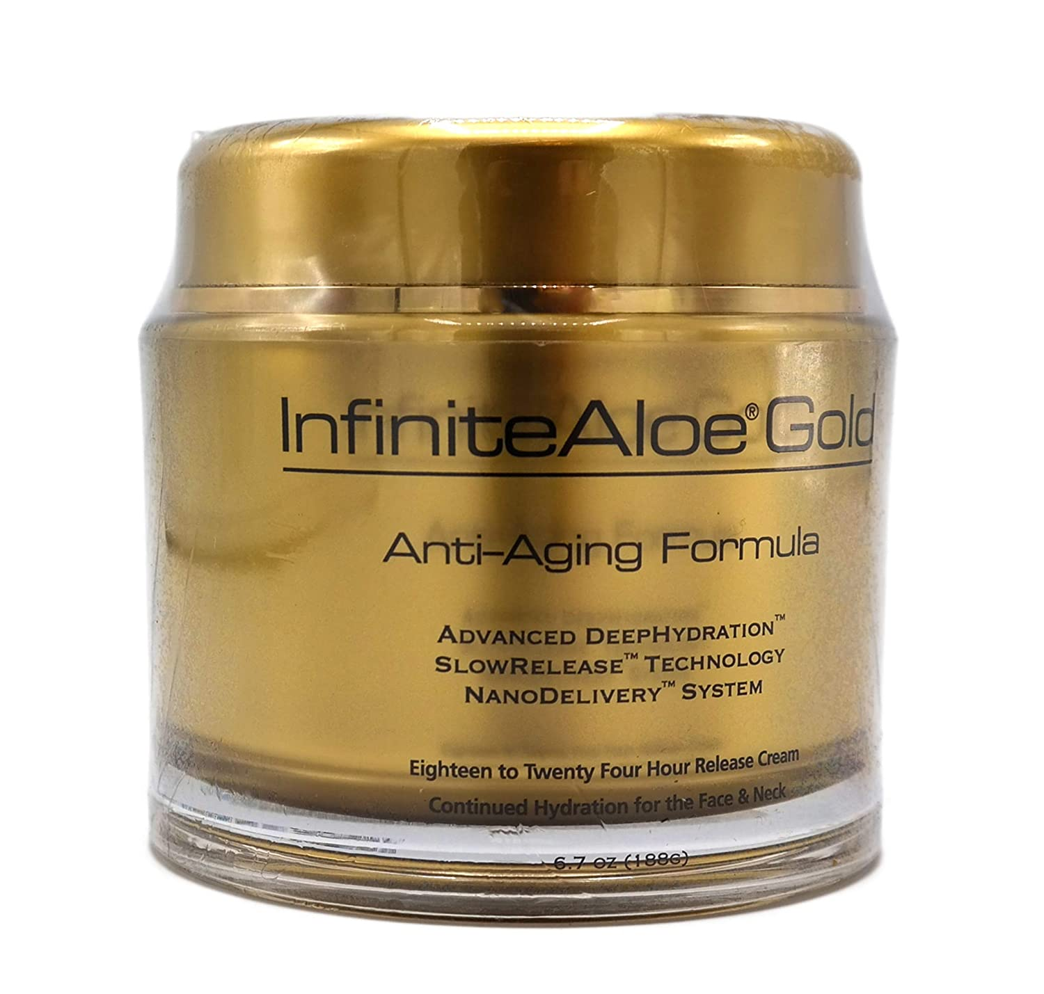 Infinite Aloe Gold Anti-Aging Formula 6.7 oz. Jar